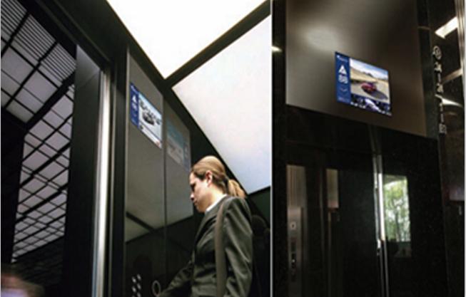 智能楼显LCD媒体